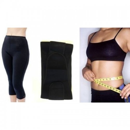 Neoprene Workout Capris & Belt