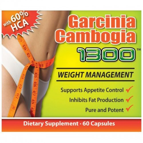 Garcinia Cambogia 1300. 1 month supply (60 capsules)
