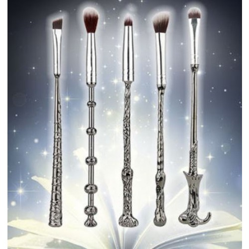 5pc Harry Potter-Inspired Wand Makeup Set