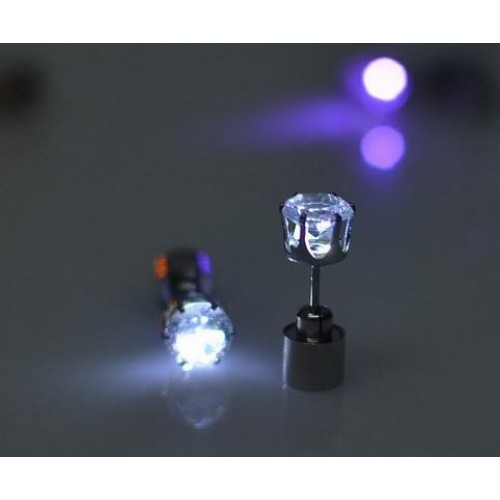 Christmas party light up earrings